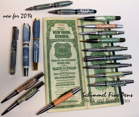 Custom Made Stocks And Bonds, The Pen Series