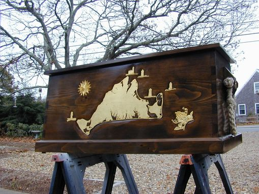 Custom Made Martha's Vineyard Sea Chest