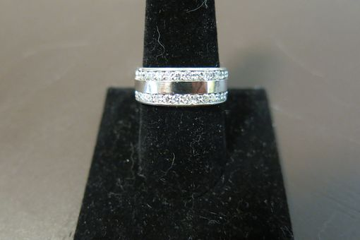Custom Made Men's Cuban Link Wedding Ring