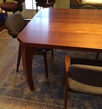 Custom Made Dine Table, Sapele