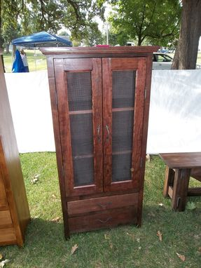 Custom Made 2 Door Jelly Cupboard