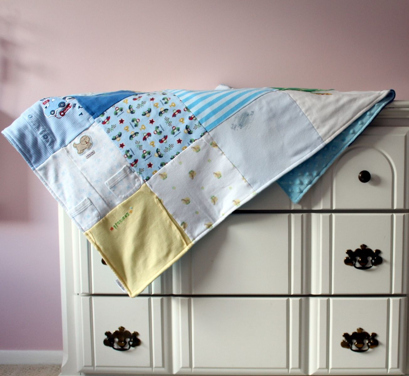 Custom Made Baby Clothes Memory Quilt By Maiden Jane