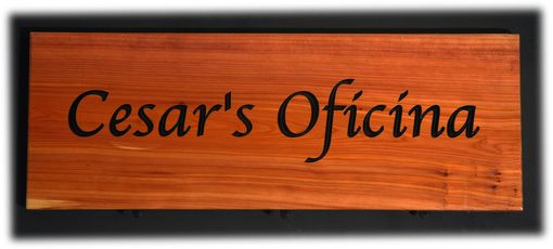 Custom Made Cedar Signs