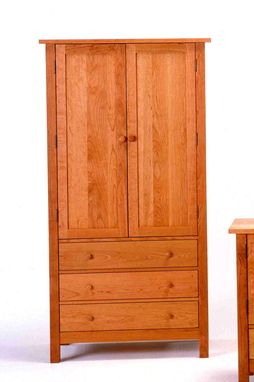 Custom Made Tall Armoire
