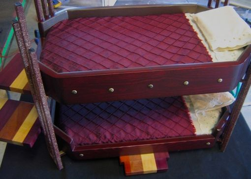 Custom Made Pampered Pets Bunk Beds