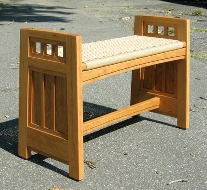 Custom Made Arts-And-Crafts Valley Bench