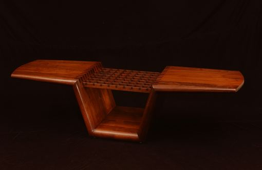 Custom Made Indenta Coffee Table-See Www.Marklevin.Com For Current Price And More Information.