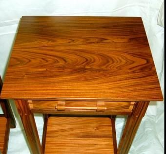 Custom Made Bolivian Rosewood Nightstand