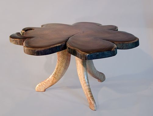 Custom Made Burl Top Tables
