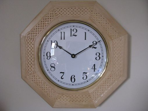 Custom Made Celtic Knot Wall Clock