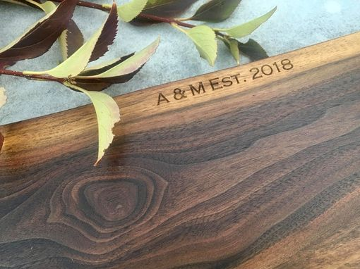 Custom Made Personalized Laser Engraved Serving Trays And Boards