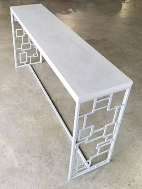 Custom Made In Stock/Modern Metal Console Table