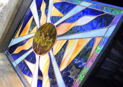 "Custom Made ""Fya"" - Stained Glass Panel"