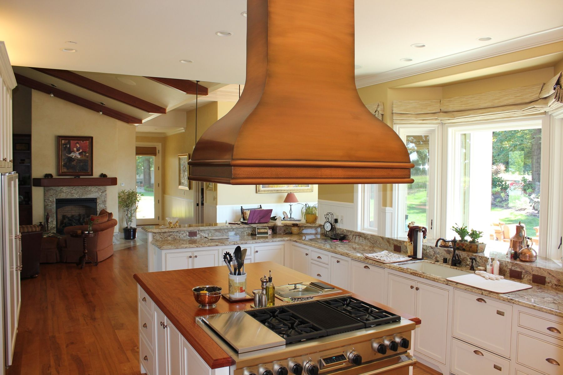 Hand Made Copper Range Hood By Mio Metals Custommade Com