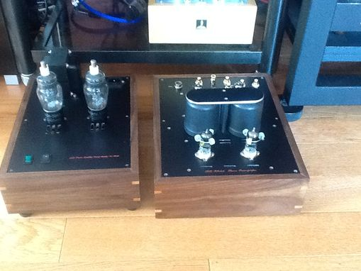 Custom Made Tube Amplifier Chassis