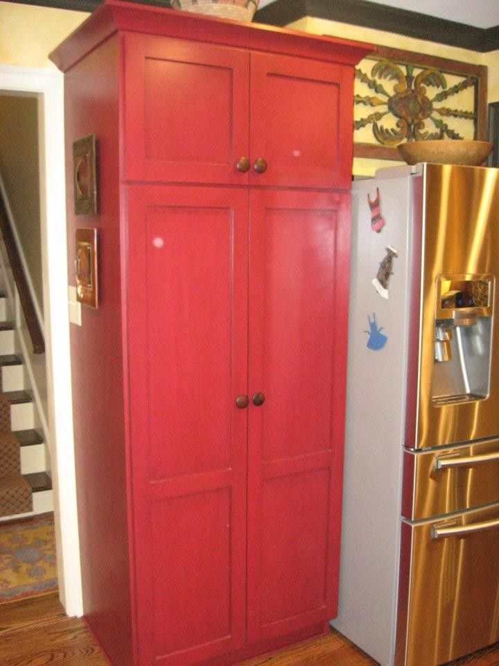Hand made built in pantry cabinet by cristofir bradley for Built in kitchen cupboards