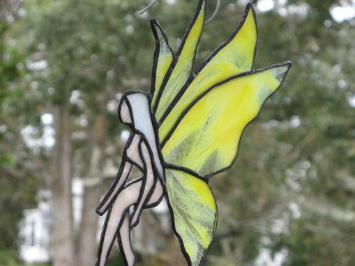 Custom Made Stained Glass Fairy Light Catcher