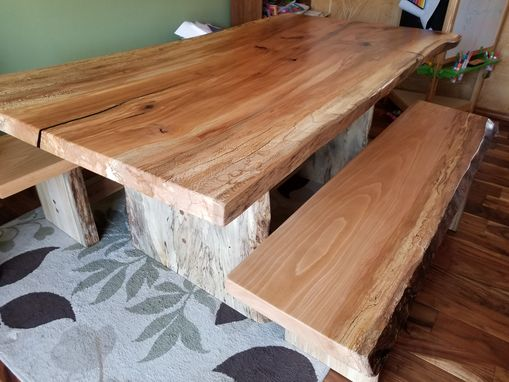 Custom Made Rustic Dining Set- Sycamore- Beautiful!!