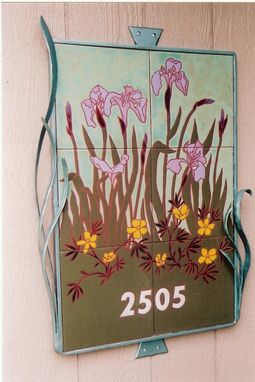 Custom Made Flower House Sign