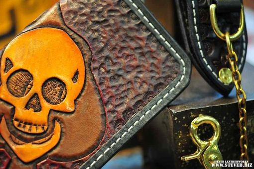 Custom Made Skull Wallet