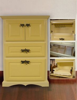 Custom Made Large Doll Wardrobe Cabinet