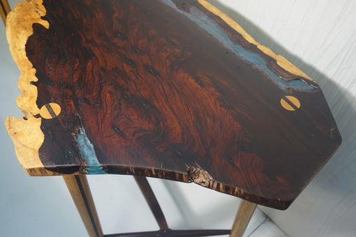 Custom Made Rosewood Live Edge Table