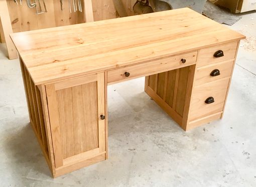 Custom Made Custom Pedestal Desk