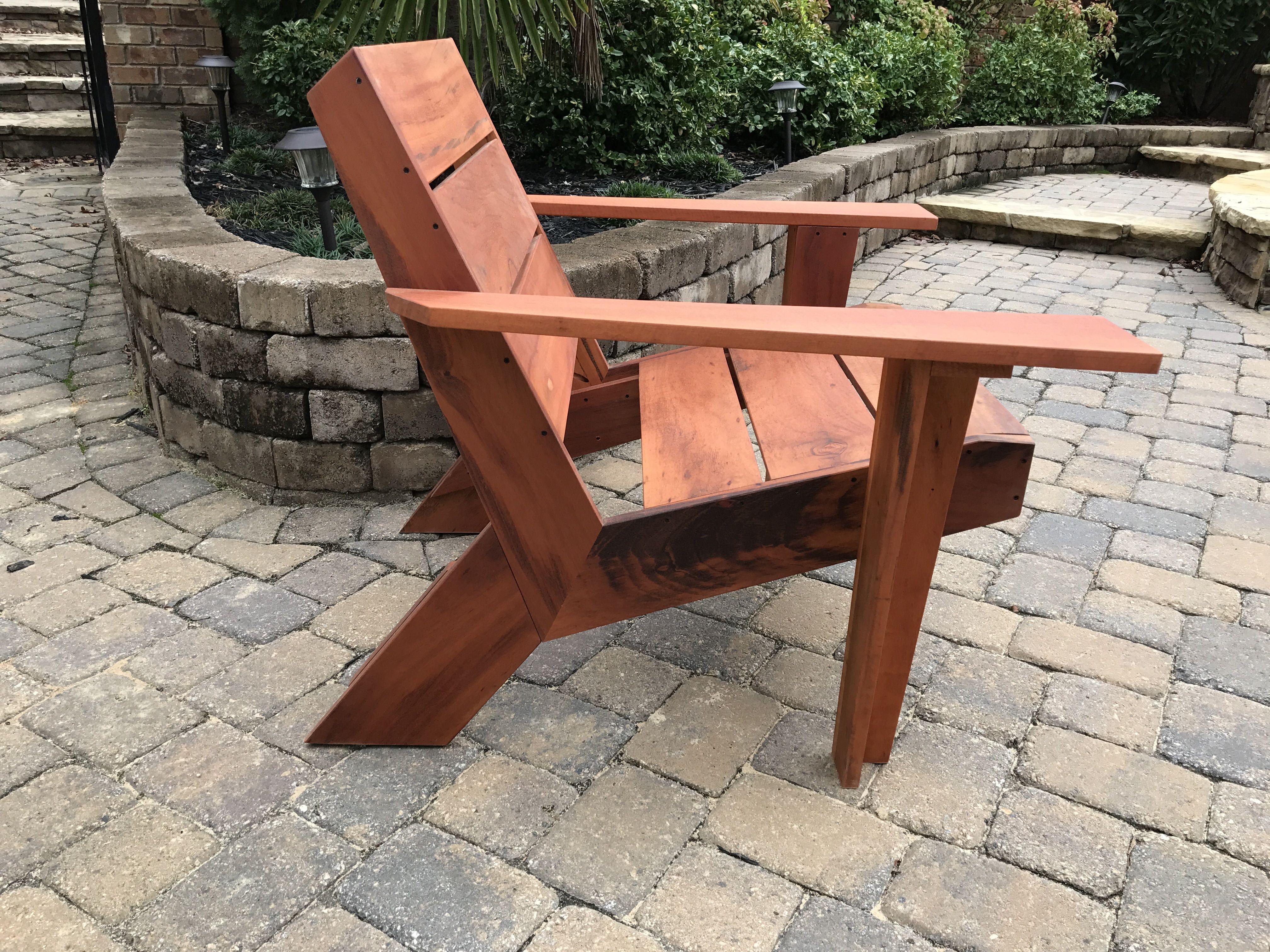 Custom Modern Outdoor Patio Chair By Carolina Wood Designs Custommade Com
