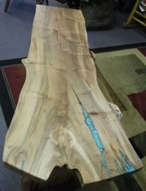 Custom Made Figured Maple Coffee Table