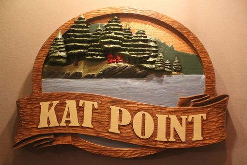 Custom Made Custom Carved Lake Home Signs, Vacation Home Signs, Cabin Signs By Lazy River Studio