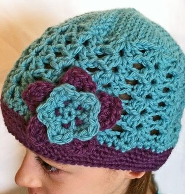 Custom Made Crochet Lace Hat