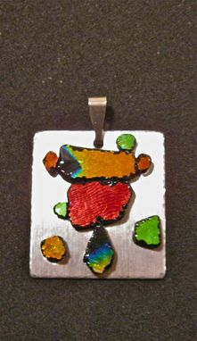 Custom Made Funky Glass Pendant