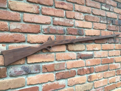 Custom Made Wooden Toy Musket Gun