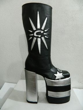 Custom Made Platform Glam Rock Boots G Design Any Platform Height Available