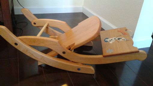 Custom Made Children's Folding Rocking Chair