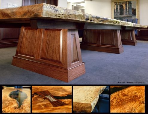 Custom Made Boardroom Table