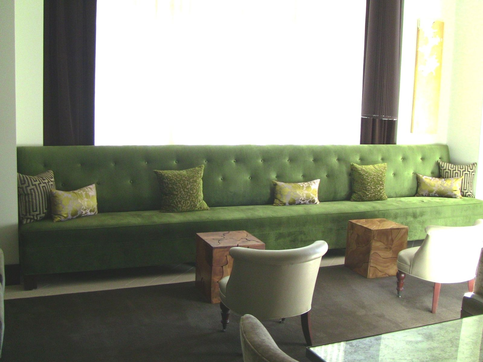 Hand Made W Hotel Residences The Terrace Custom Sofas Custom