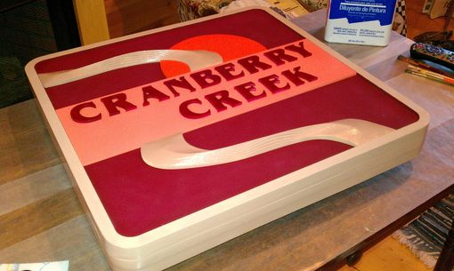 Custom Made Dimensional Signs(Cranberry Creek)