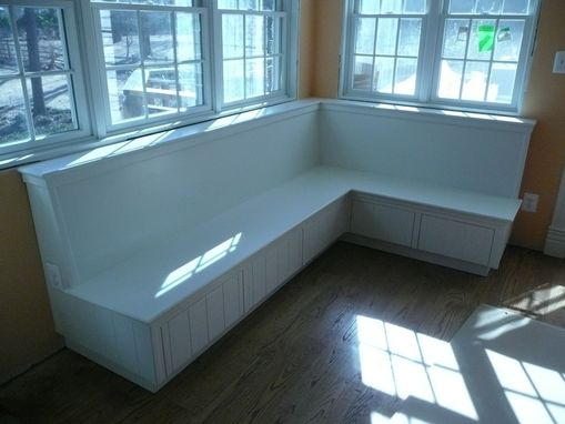 Custom Made Built In Benches