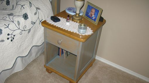 Custom Made Night Stand - French Country