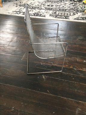Custom Made Metal Toddler Chair