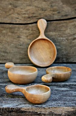 Custom Made Wooden Measuring Cups