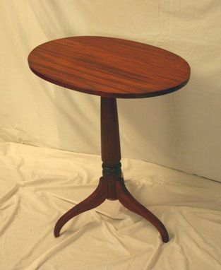 Custom Made Tilt Top Table