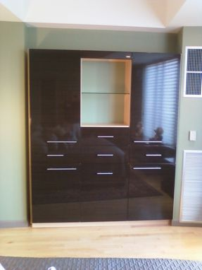 Custom Made Built In Contemporary Cabinet And Storage