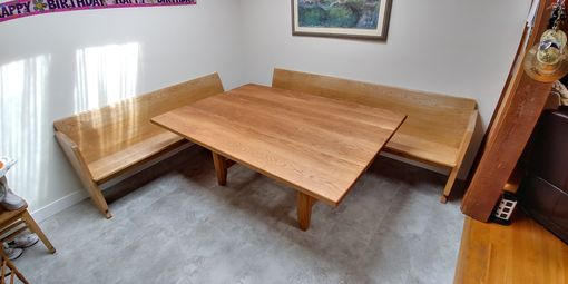 Custom Made Massive White Oak Table For