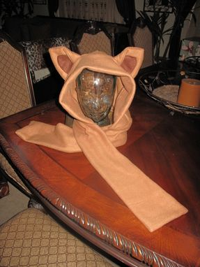 Custom Made Pokemon Eevee Ear Scarf Hoodie Fleece Hat In 6 Sizes