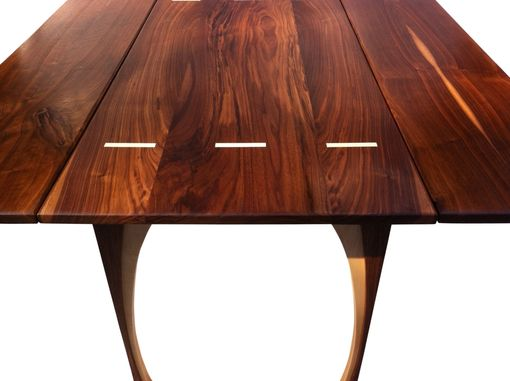 Buy Hand Made Drop Leaf Dining Table Solid Walnut 48 Inches