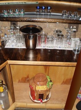 Custom Made Custom Polygon Wet Bar Contruction