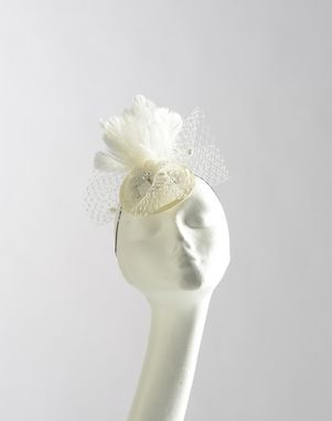 Custom Made Small Bridal Fascinator