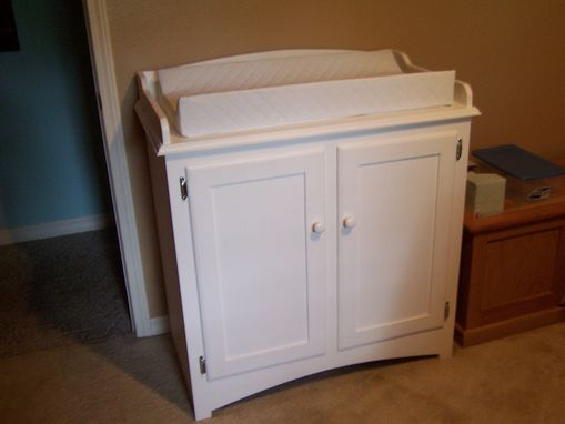 Custom Made Changing Table